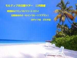 楽園モルディブ リゾート 真っ白なビーチ ハウスリーフ 茨城 ダイビング
