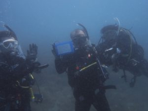 浮島ダイビング 木曽さん777本